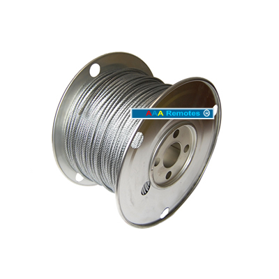 "CB18B0500 CABLE 1/8"" 7x19 500'"