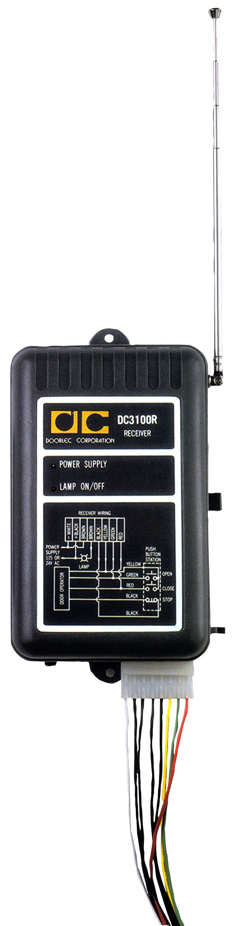 Garage Door Remote Dc3100r Garage Door Openers And Remotes
