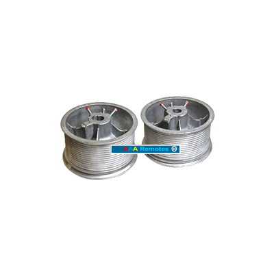 "DM32/PAIR CABLE DRUM 1"" SHAFT"